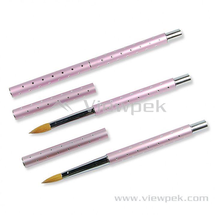 N1000B- Kolinsky Acrylic Brush(Oval)